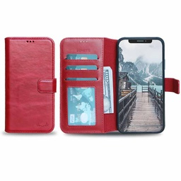 [CS-I11PM-BWIW-RD] BNT Wallet ID Window  for iPhone 11 Pro Max - Red