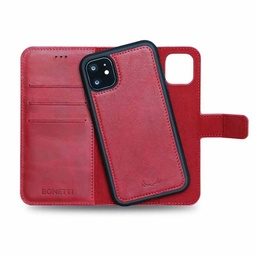 [CS-I11PM-BWMM-RD] BNT Wallet  Magnet Magic  for iPhone 11 Pro Max - Red