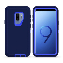 [CS-S9P-OBD-DBBL] DualPro Protector Case  for Galaxy S9 Plus - Dark Blue & Blue