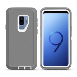 [CS-S9P-OBD-GYWH] DualPro Protector Case  for Galaxy S9 Plus - Gray & White