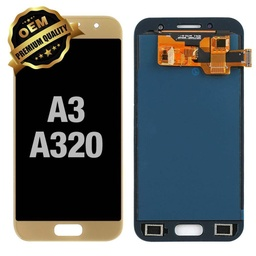 [LCD-A320-GO] LCD Assembly for Samsung Galaxy A3 (A320 / 2017) - Gold