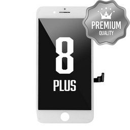 [LCD-I8P-MB6-WH] LCD Digitizer for iPhone 8P (MB6 Quality) White