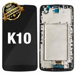 [LCD-LGK10-WF-BK] LCD Assembly for LG K10 (K410) 2016 With Frame -Black