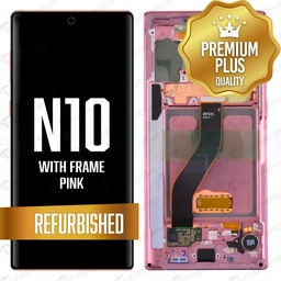 [LCD-N10-WF-PN] LCD for Samsung Note 10 with Frame Pink