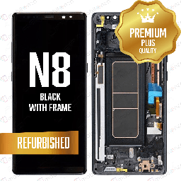 [LCD-N8-WF-BK] LCD for Samsung Galaxy Note 8 With Frame Black