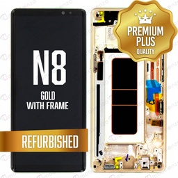 [LCD-N8-WF-GO] LCD for Samsung Galaxy Note 8 With Frame Gold