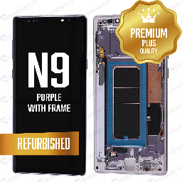 [LCD-N9-WF-PU] LCD for Samsung Galaxy Note 9 With Frame Purple