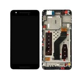 [LCD-NX6P-WF-BK] LCD Assembly for Nexus 6 Plus With Frame - Black