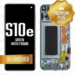 [LCD-S10E-WF-GR] LCD for Samsung Galaxy S10 E With Frame Green