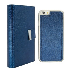 [CS-I5C-REW-DBL] Real Wallet Case  for iPhone 5C - Dark Blue