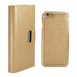 [CS-I5C-REW-GO] Real Wallet Case  for iPhone 5C - Gold