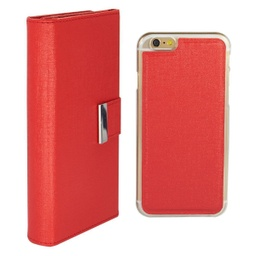 [CS-I5C-REW-RD] Real Wallet Case  for iPhone 5C - Red