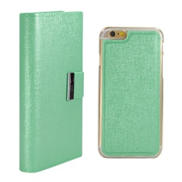 [CS-I5C-REW-TE] Real Wallet Case  for iPhone 5C - Teal