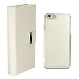 [CS-I5C-REW-WH] Real Wallet Case  for iPhone 5C - White
