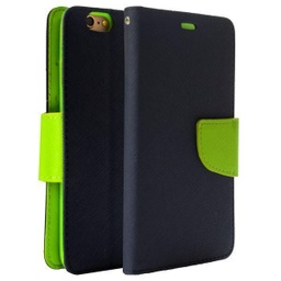 [CS-I5C-WWA-DBL] Wing Wallet Case for iPhone 5C - Dark Blue