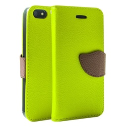 [CS-I5C-WWA-GR] Wing Wallet Case for iPhone 5C - Green