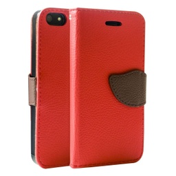 [CS-I5C-WWA-RD] Wing Wallet Case for iPhone 5C - Red