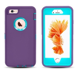 [CS-I5-OBD-PULBL] DualPro Protector Case  for iPhone 5 - Purple & Light Blue