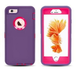 [CS-I5-OBD-PUPN] DualPro Protector Case  for iPhone 5 - Purple & Pink