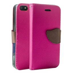 [CS-I5-WWA-PN] Wing Wallet Case for iPhone 5 - Pink