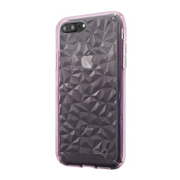 [CS-I7-3CC-PN] 3D Crystal Case  for iPhone 7/8 - Pink