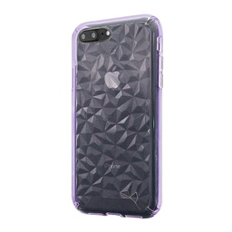 [CS-I7-3CC-PU] 3D Crystal Case  for iPhone 7/8 - Purple