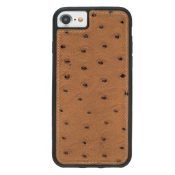 [CS-I7-BFC-OS-CA] BNT Flex Cover Ostrich for iPhone 7/8 - Camel