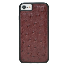 [CS-I7-BFC-OS-RD] BNT Flex Cover Ostrich for iPhone 7/8 - Red