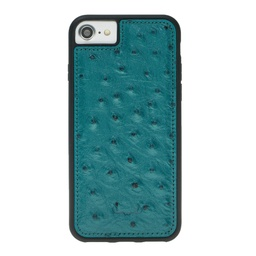 [CS-I7-BFC-OS-TQ] BNT Flex Cover Ostrich for iPhone 7/8 - Turquoise