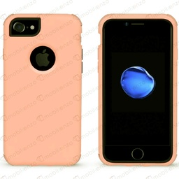 [CS-I7-BHCL-ROGO] Bumper Hybrid Combo Case for iPhone 7/8 - Rose Gold