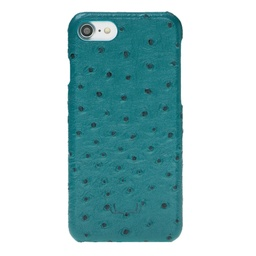 [CS-I7-BUJ-OS-TQ] BNT Ultimate Jacket Ostrich for iPhone 7/8 - Turquoise