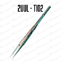 [TL-TWZR-SH02] 2UUL / Ti02 Curved Head Titanium Alloy Ultraprecise Tweezer