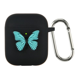 [CS-AP-BT-BK] Butterfly Case for AirPods 1 / 2 - Black