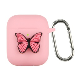 [CS-AP-BT-PN] Butterfly Case for AirPods 1 / 2 - Pink