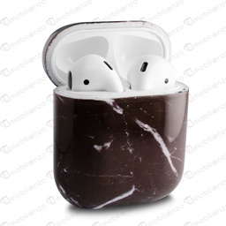 [CS-AP-MD-BK] Marble Design Case for AirPods 1/2 - Black