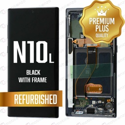 [LCD-N10L-WF-BK] LCD for Samsung Note 10 Lite with Frame Black
